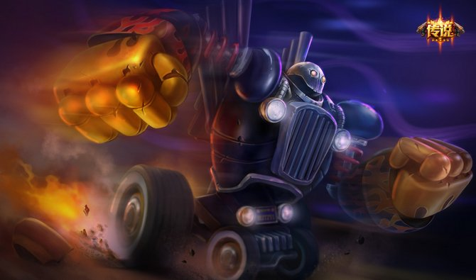蒸汽机器人 - 英雄皮肤