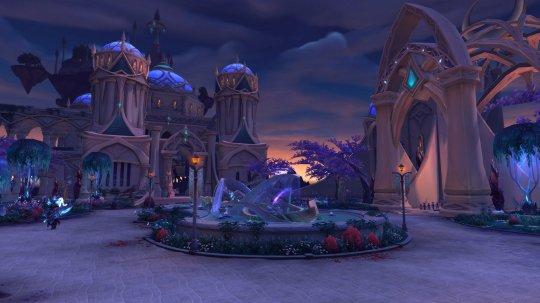 《魔兽世界》暗夜要塞随机难度第三区开放