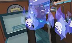 用VR玩守望屁股