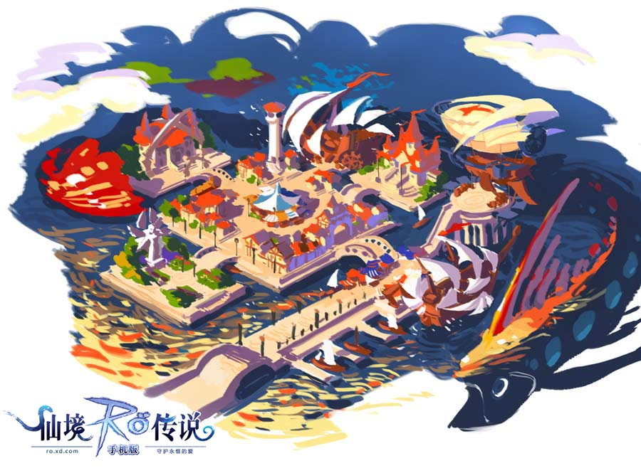 【游戏背景】卫星之城依斯鲁得:沉船未解之谜_仙境ro
