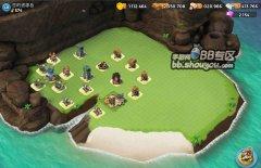 《海岛奇兵》48级石材资源岛 防御阵型推荐