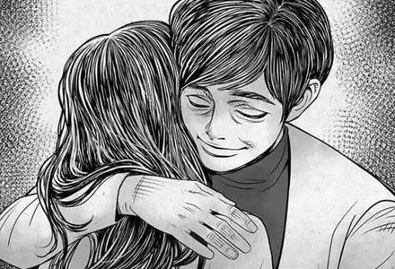 韩国恐怖漫画:《执着》