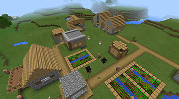 我的世界村庄里都有什么?带你了解村庄建筑