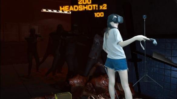 女子玩VR竟摔断门牙