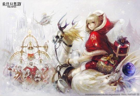 FF14国服迎圣诞 胖莫古力坐骑27日上架
