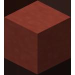 红色染色粘土