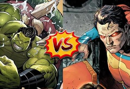 漫威 vs DC旗下相似角色谁强谁弱,官方20年前早有定论!