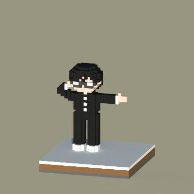 minecraft 我的世界 小型雕像建造技巧分享 创作就是如此简单