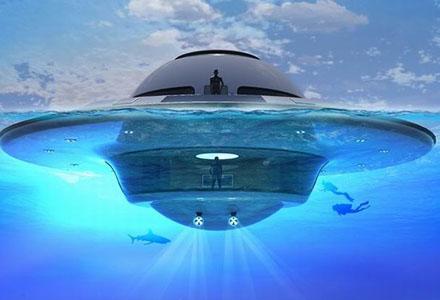 土豪的专属配备又升级!UFO豪华游艇2.0版上线了~更帅更壕!