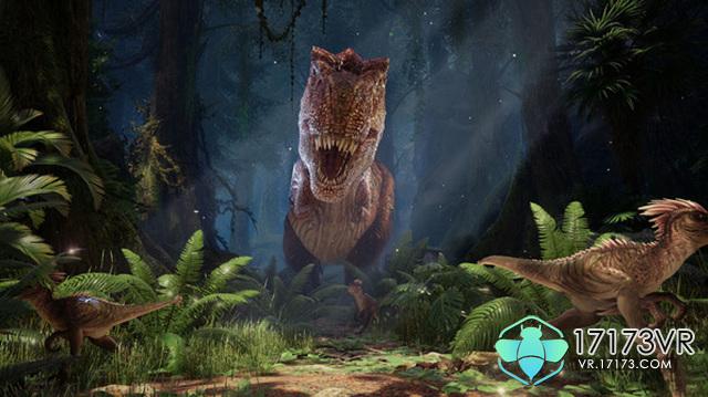 的是在一个人为重生的恐龙岛上,玩家和恐龙互动,可以投食喂养,也