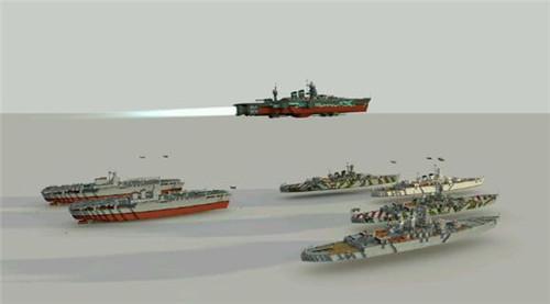 我的世界手机版海军战舰建筑存档下载 手机版0.15建筑存档