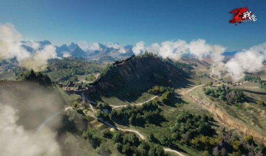 图三:雨雾缭绕,山川纵横,城池沟壑,世界揭开面纱一角.jpg