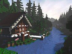 我的世界PC版存档下载之:壮丽的神堂岛