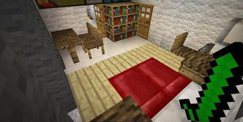 我的世界别墅教程 羊毛别墅制作全程