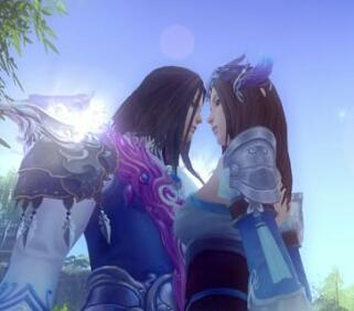 吞噬苍穹精美游戏截图 唯美爱情