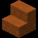 红沙石楼梯