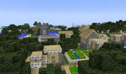 我的世界1.7.10更多的村庄MOD下载  1.7.10MOD下载