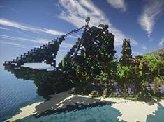 我的世界PC版存档下载之:海盗家园 美丽岛屿