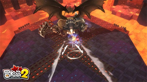 大陆新闻 新的挑战《冒险岛2》开荒混沌副本赢传说装备  不灭神殿团队