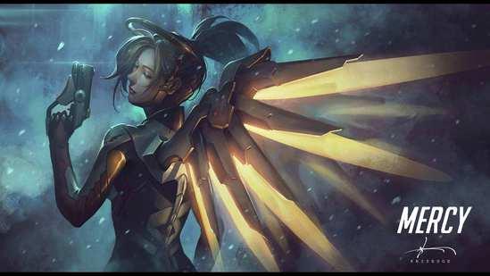 守望先锋更新:堡垒重做 天使复活时无敌
