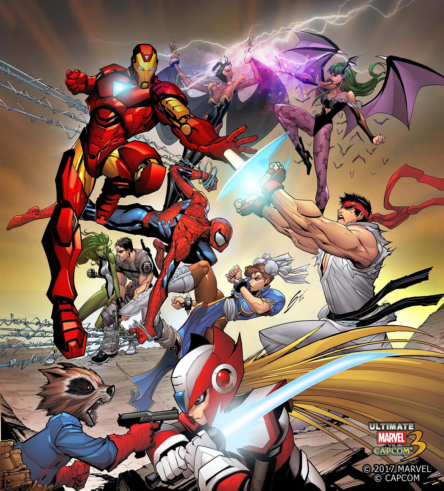 终极漫画英雄vs.Capcom 3