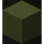 绿色染色粘土