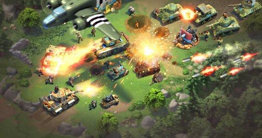盖娅互娱新品《我的战争》今日全平台首发