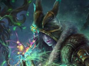 魔兽世界玩家原创画作:献给工会里神一样的小德