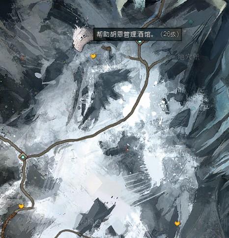 激战2 罗纳通道地图