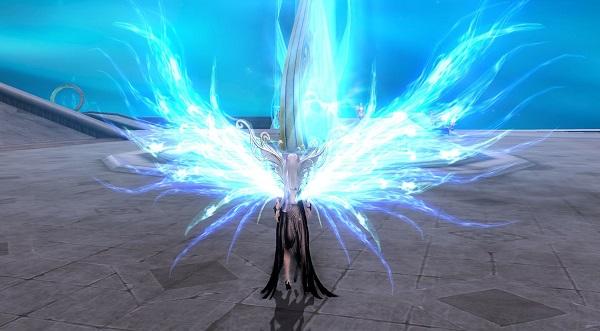 永恒新款翅膀展示 超级流光特效亮瞎眼--永恒之塔