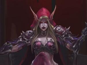 魔兽玩家原创画作:部落大酋长―希尔瓦娜斯