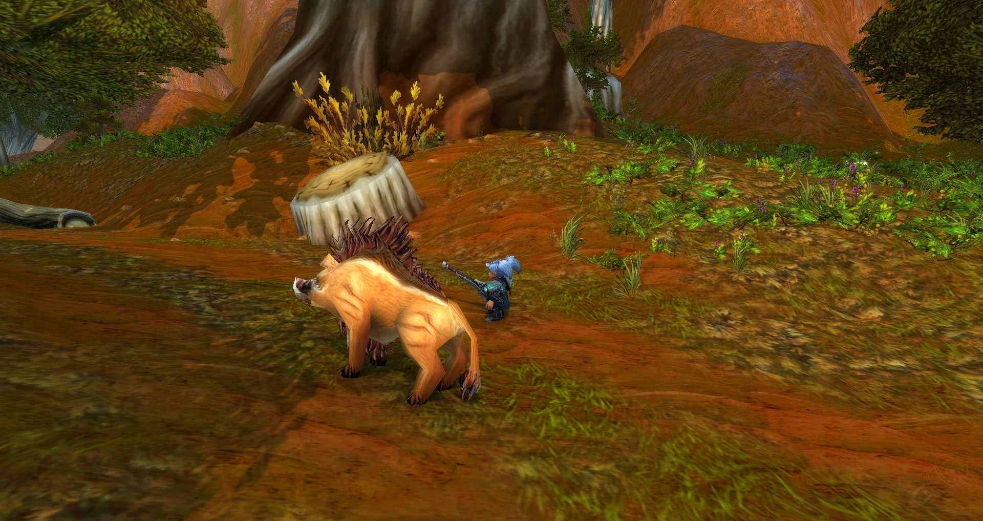 真·动物园:7.0猎人凶暴野兽效果欣赏(东部王国)