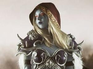我们是被遗忘者:俄罗斯妹子COS女妖之王希尔瓦
