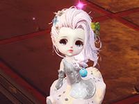 《天谕》玩家晒图:超级萌萌萌的小萝莉