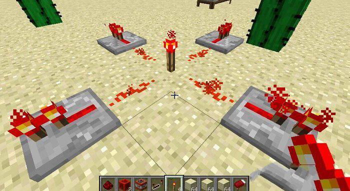 红石系统玩法攻略之红石中继器合成方式