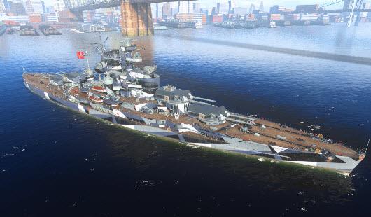 巴伐利亚机械制造_什么都好 就是炮毁!巴伐利亚级战列舰测评