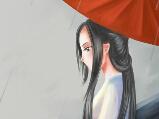九阴玩家手绘同人图欣赏 丝雨细如愁