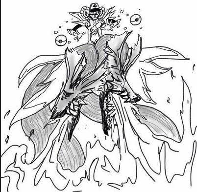 各职业战斗场景手绘图第三期 爆炸的魔法师