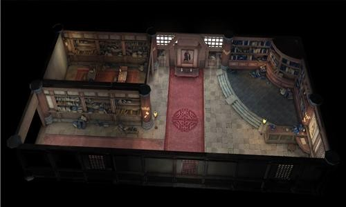 传奇室内场景更像是默默无闻的小角色