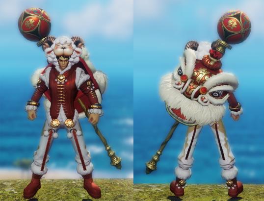 瑞羊献岁—新武器时装坐骑游戏内截图一览