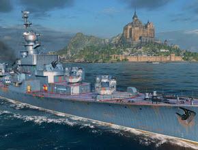 战舰世界0.6.1版本 10级苏驱Grozovoy