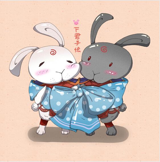 复活节来啦!虽然我只是想画兔子和彩蛋了..根本没在过这个节日的~最近萌了新CP..事情是这样的: 一开始我喜欢柔弱的马尾少年,后来喜欢短发的霸道总裁,最后我发现,原来我喜欢的是[霸道总裁马尾少年]这个组合..... 总之,我们来萌萌哒看画吧~
