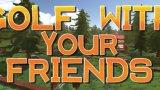 和好朋友一起打高尔夫