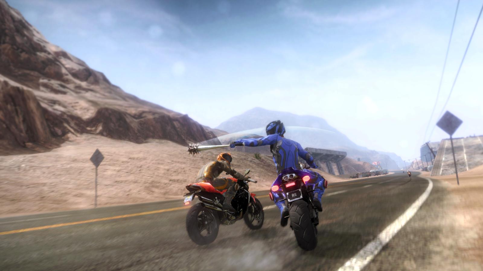 暴力摩托车2009简介:暴力摩托车2009的游戏介绍