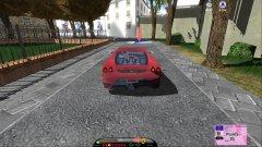 安全驾驶模拟器:汽车截图