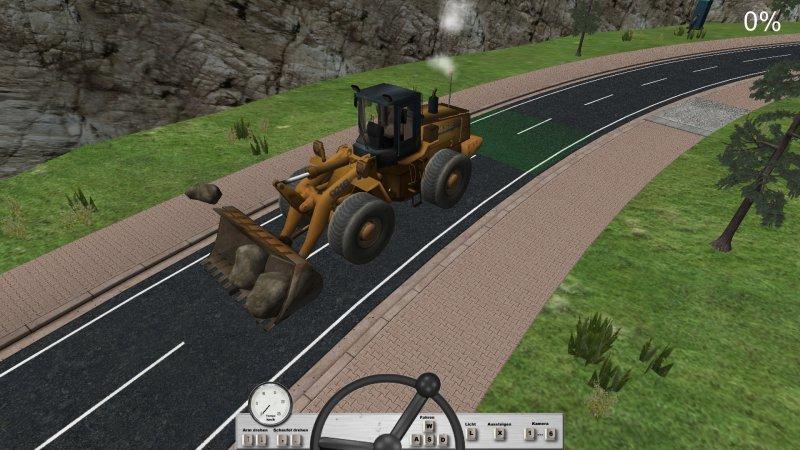 道路施工模拟截图第3张