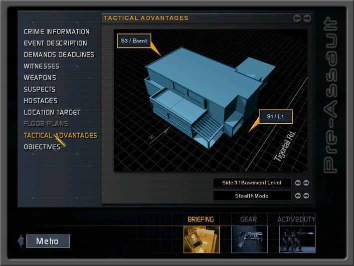 SWAT 3:年度战术游戏截图第2张