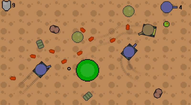 敌方坦克截图第1张