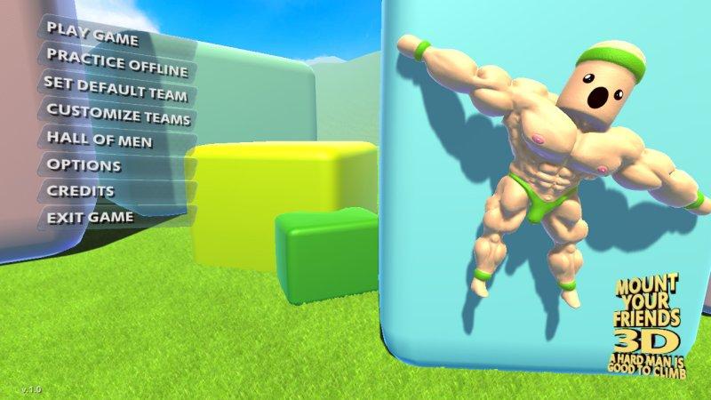 装载你的朋友3D:一个坚强的人是很好的攀登截图第4张