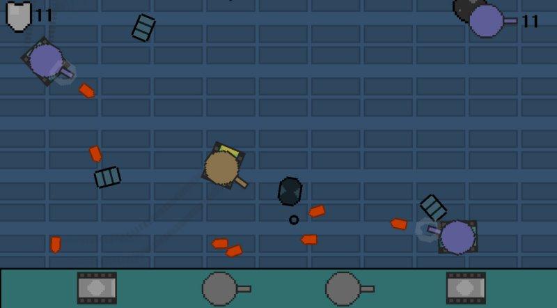 敌方坦克截图第2张